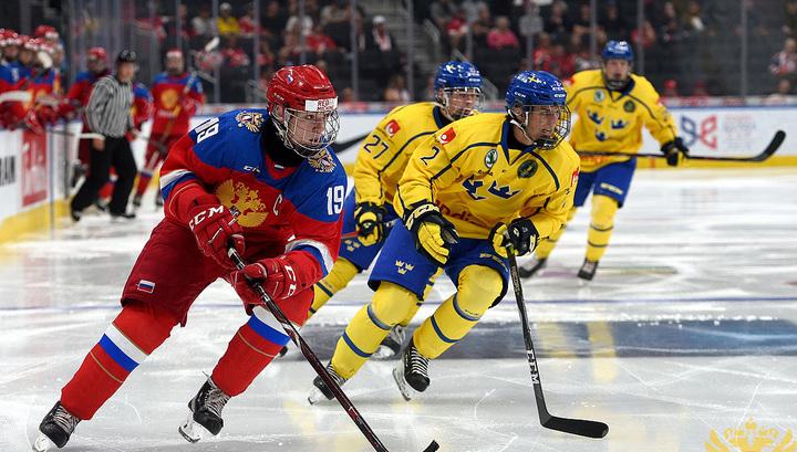 Хоккей. Российские юниоры не смогли выйти в финал Кубка Глинки