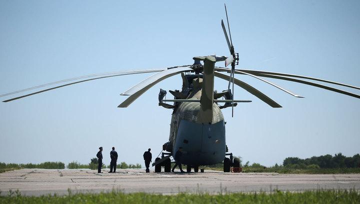 Трое членов экипажа разбившегося Ми-26 находятся в тяжелом состоянии