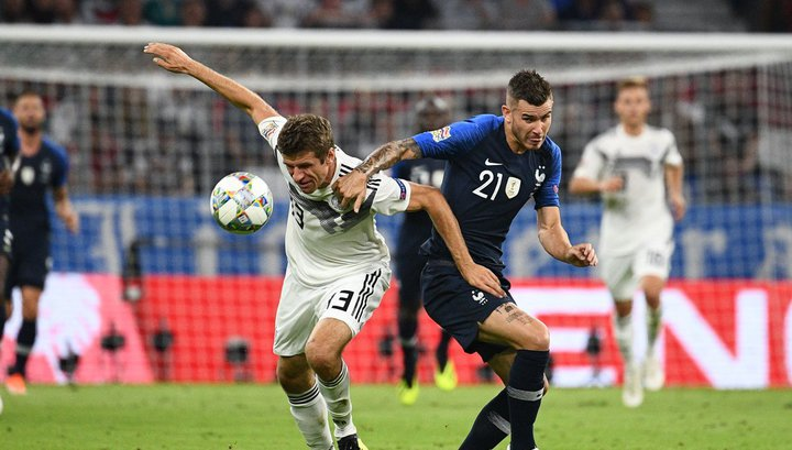 Футболисты Германии и Франции сыграли вничью в Лиге наций