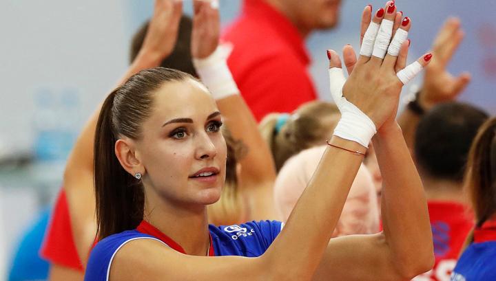 Волейбол. Гончарова и Старцева поедут на чемпионат мира