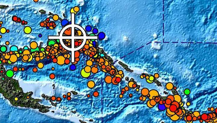В Тихом океане объявлена угроза цунами после сильного землетрясения