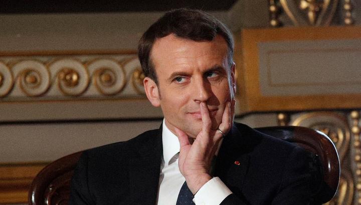 Во Франции задержаны шесть человек, готовивших покушение на Эммануэля Макрона