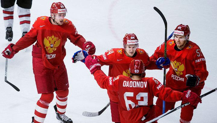 Сборная России по хоккею досрочно победила на Кубке Карьяла