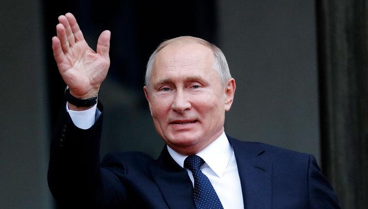 В Париже Путин пообщался с лидером Косова
