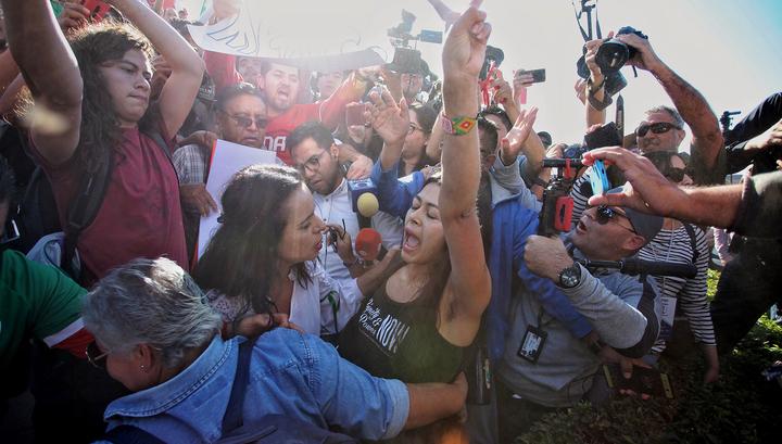 c4e0f251250 Жители пограничного мексиканского города взбунтовались против мигрантов