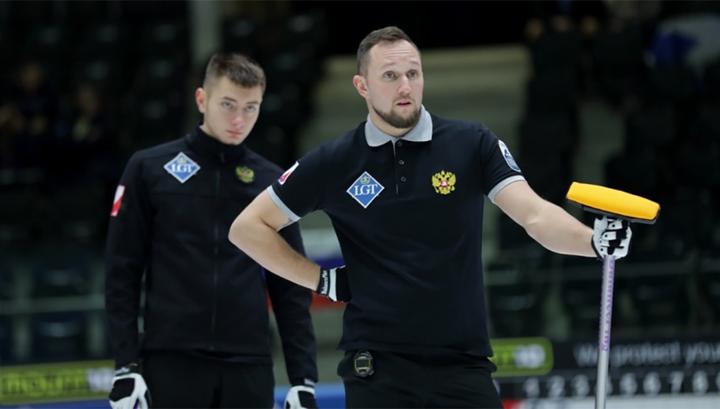 Российские керлингисты обыграли Нидерланды на чемпионате Европы