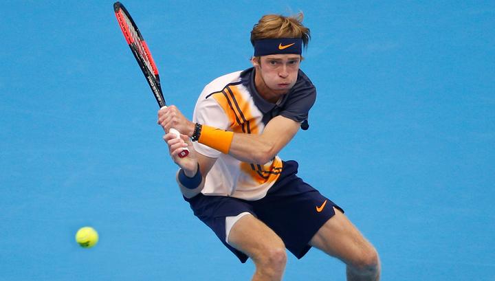 Андрей Рублев обыграл Марина Чилича и вышел в третий круг турнира в Майами