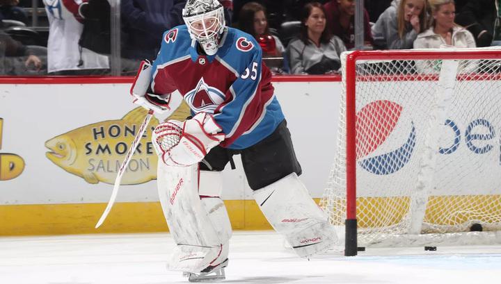 """Вратарь """"Колорадо"""" Варламов стал первой звездой недели в НХЛ"""