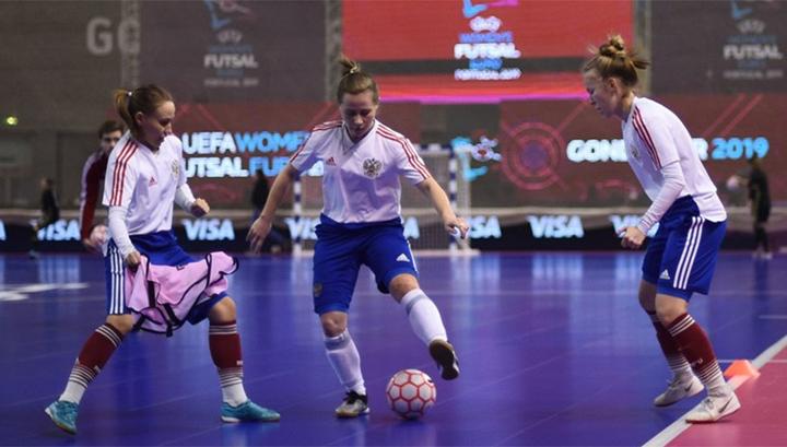 Мини-футбол. Россиянки уступили Испании в полуфинале Евро-2019