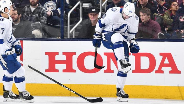 Никита Кучеров – первая звезда дня в НХЛ