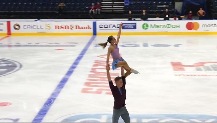 Фигуристы Пепелева и Плешков лидируют в Кубке России после короткой программы