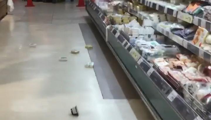 В Японии и на побережье Камчатки произошло землетрясение