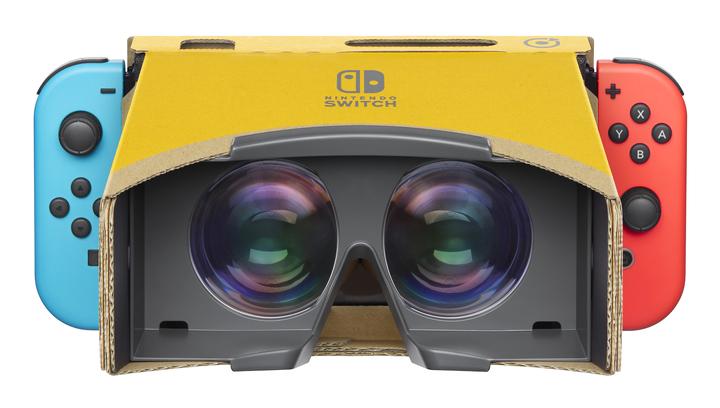 Nintendo представила VR-гарнитуру для консоли Switch