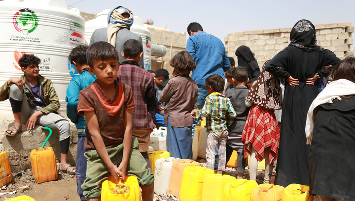 Свыше двух миллиардов людей лишены доступа к воде и гигиене