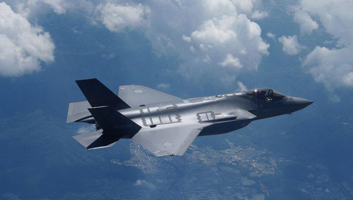 Новейший истребитель F-35 японских сил самообороны пропал с радаров