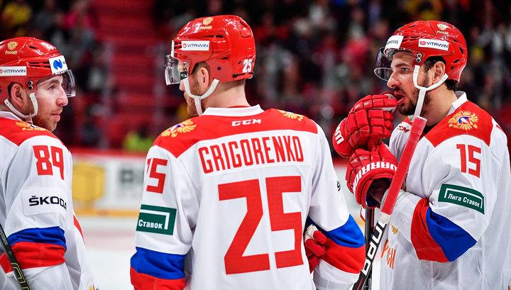 Российские хоккеисты уступили финнам на Евротуре
