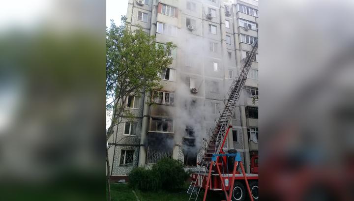 Из-за пожара в многоэтажном доме в Железноводске введен режим ЧС