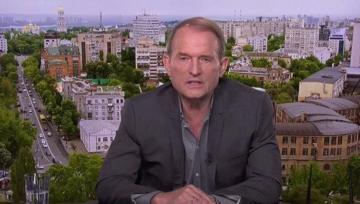 Медведчук: распустив Верховную раду, Зеленский нарушил конституцию