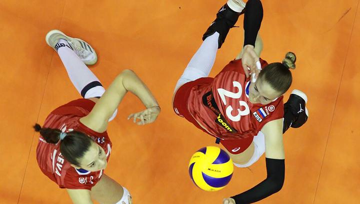 Российские волейболистки потерпели второе поражение в Лиге наций
