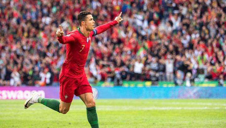 Роналду – лучший бомбардир в истории квалификаций чемпионатов Европы photo