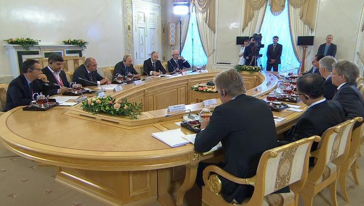 Путин: профицит внешней торговли с лихвой перекрывает утечку капиталов