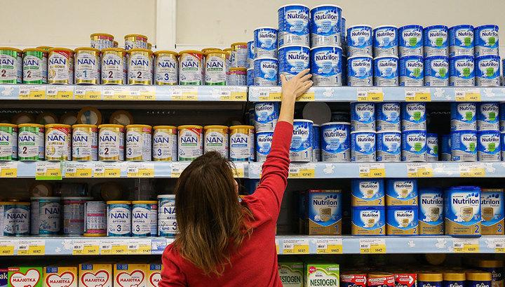 Детское питание может попасть в список социально значимых товаров