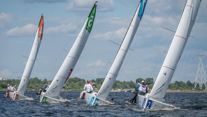 Яхтсмены из Санкт-Петербурга с серебром Национальной парусной лиги