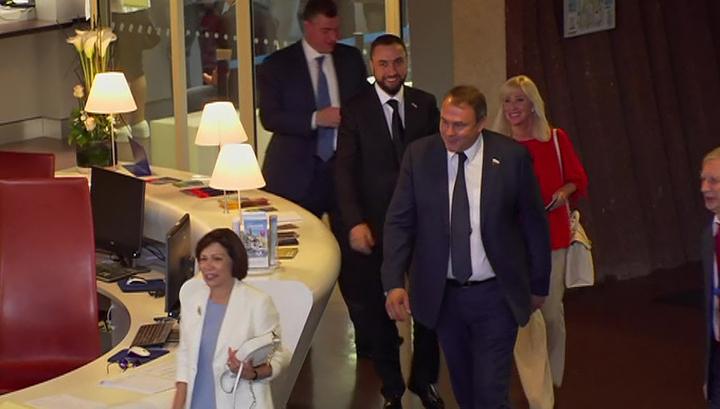 ПАСЕ: российская делегация ждет итогов обсуждения своих полномочий