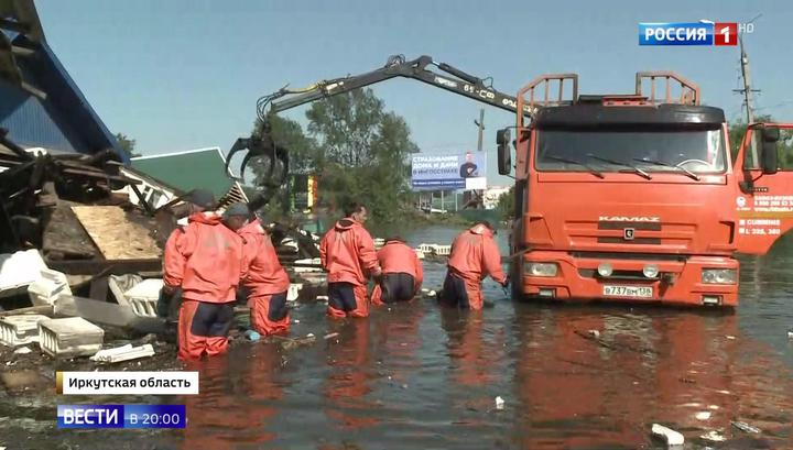 Как Тулун приходит в себя после паводка