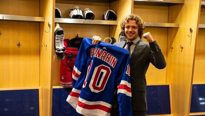 "Форвард ""Рейнджерс"" Артемий Панарин примет участие в Матче звезд НХЛ"