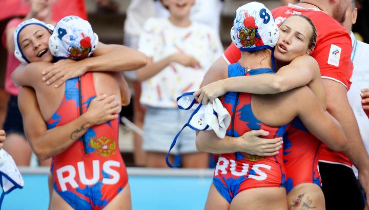 Российские ватерполистки с победы стартовали на чемпионате мира