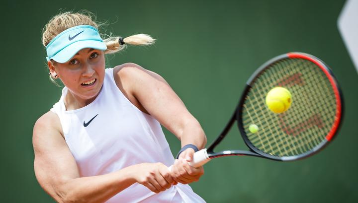 Теннисистка Потапова завершила борьбу на турнире в Сеуле