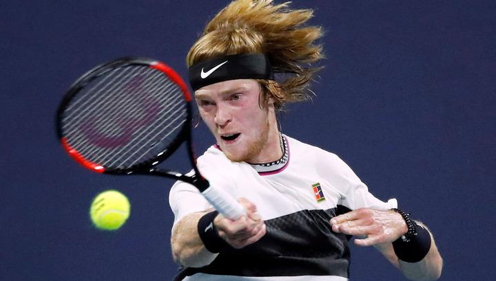 Рублев не смог выйти в полуфинал турнира в Уинстон-Сейлеме