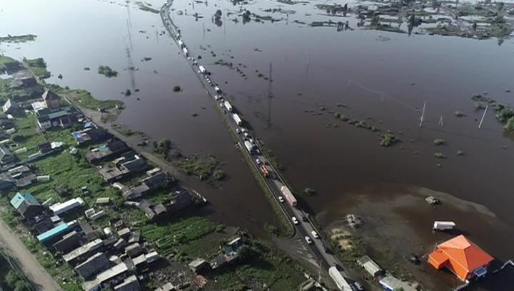 Паводок в Приангарье: вода ушла из 13 населенных пунктов