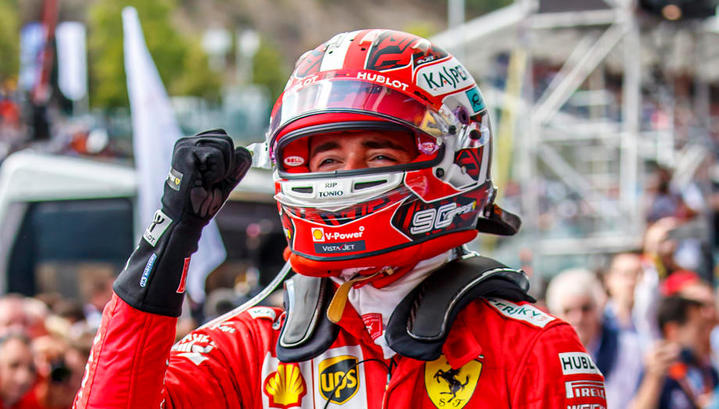 Формула-1. Шарль Леклер стал победителем гонки в Бельгии, Даниил Квят – 7-й