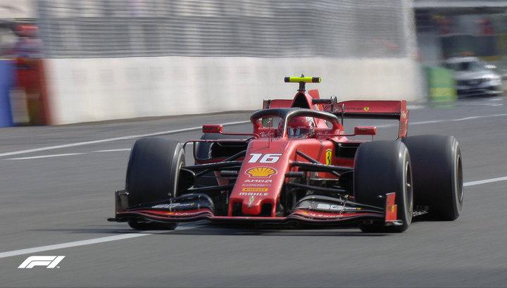Леклер из Ferrari выиграл Гран-при Италии, Квят сошел