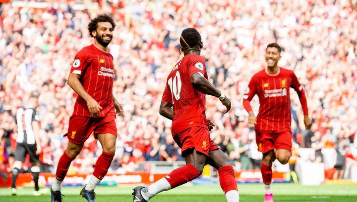 """""""Ливерпуль"""" упустил преимущество в три мяча, но вырвал победу благодаря Салаху"""