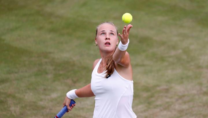 Блинкова проиграла Остапенко в полуфинале турнира в Люксембурге