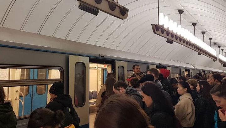 На серой ветке московского метро останавливали движение из-за пассажира на пути