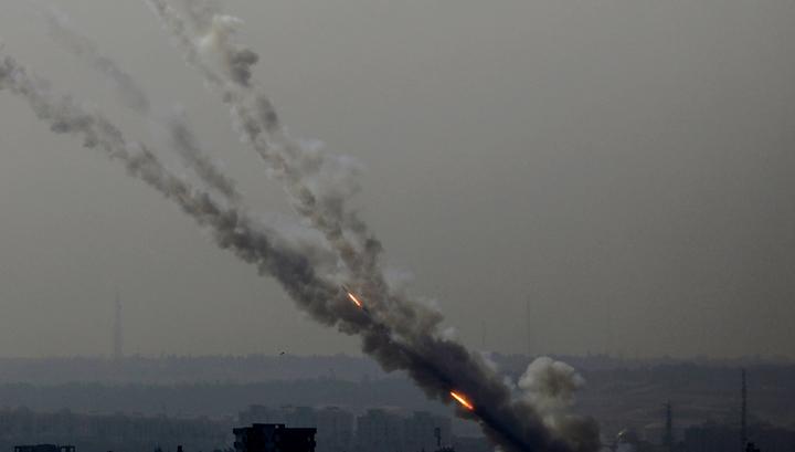 Из сектора Газа по Израилю были запущены две ракеты photo