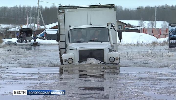 Режим ЧС из-за осеннего паводка сохраняется в шести районах Вологодской области