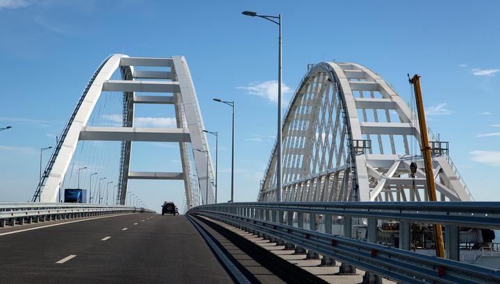 Железнодорожное движение по Крымскому мосту может открыть президент