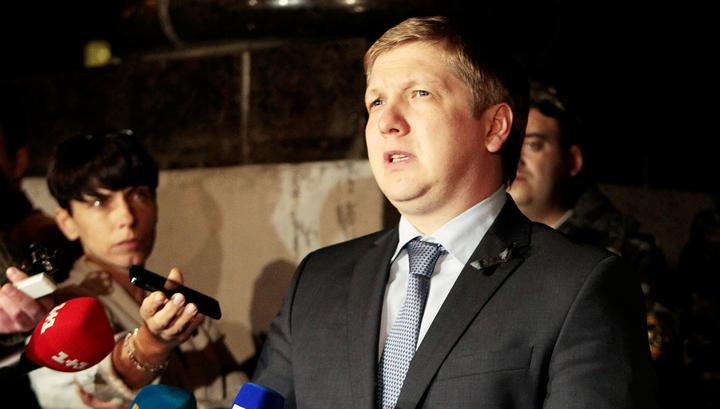 """Глава """"Нафтогаза"""" предложил продолжить переговоры по транзиту в апреле-мае"""