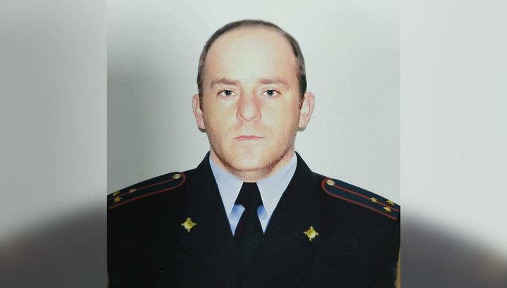 В Ингушетии похоронили убитого при нападении на пост ДПС полицейского