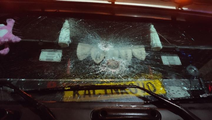 """""""Я здесь главный"""": сумасшедший поляк напал на российский грузовик"""
