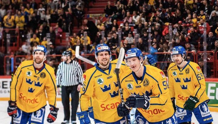 Шведская сборная выиграла домашний этап Евротура