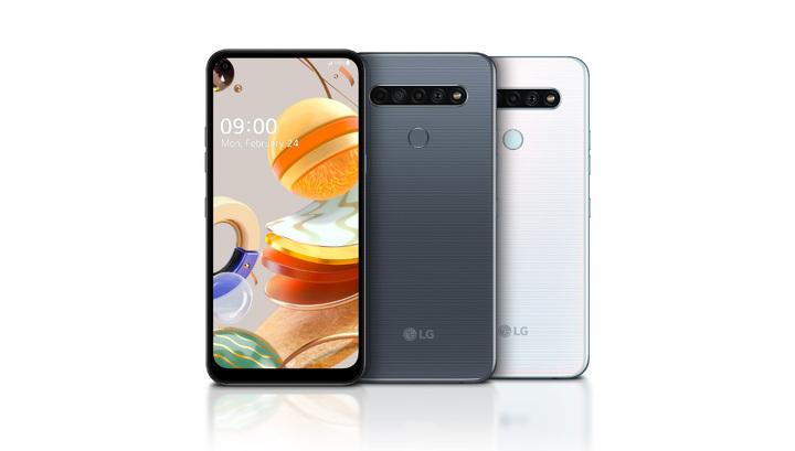LG установила четверную камеру в линейку бюджетных смартфонов
