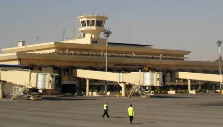 Аэропорт Алеппо впервые за восемь лет принял самолет из Дамаска