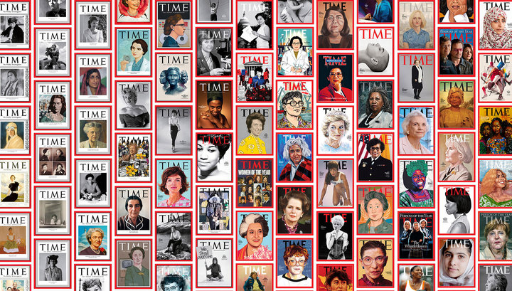 """Журнал Time выбрал 100 """"женщин года"""", определивших облик столетия"""