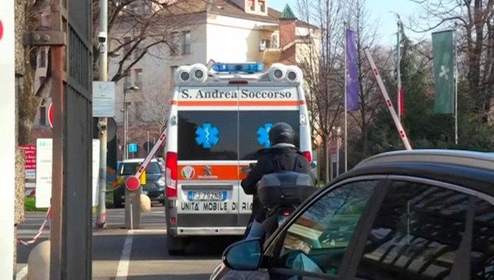 Италия лидирует по числу смертей от коронавируса
